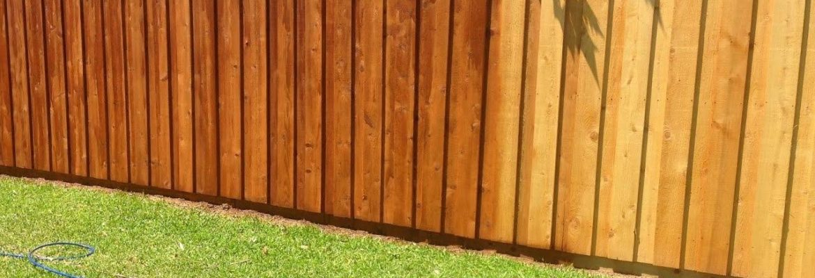 Hansen's Fence Staining Services