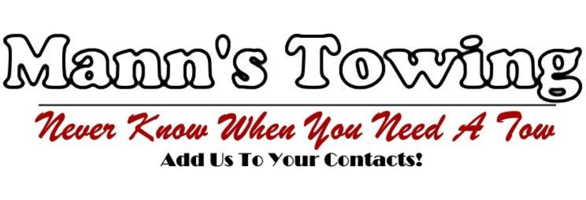 Mann's Towing Services