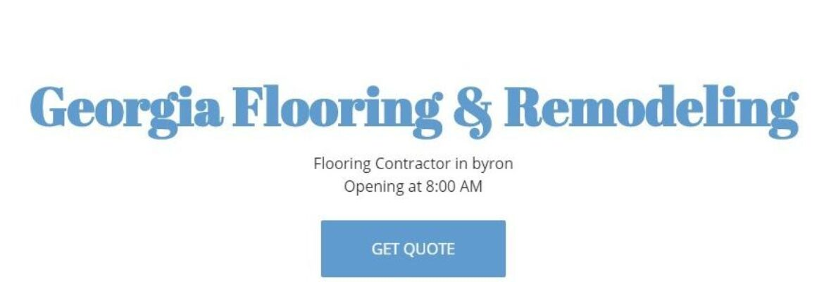 Georgia Flooring and Remodeling